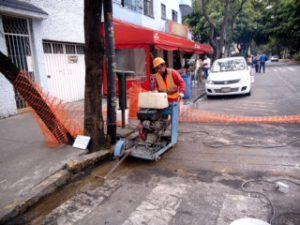 Instalación y reposición de asfalto para el sector eléctrico y telecomunicaciones - International Trading