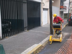Trabajos de obra civil