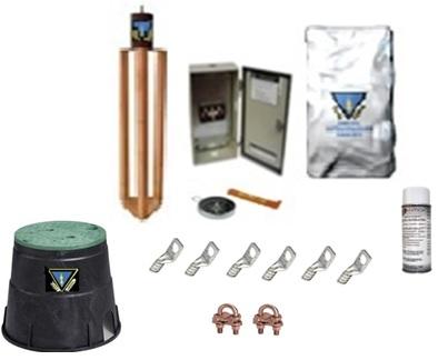 Tierras Fisicas Kit con accesorios